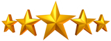 SaniTECH 5 Star Customer Reviews Stars Only for carpet rug upholstery and tile cleaning